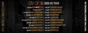 Dutty Moonshine Big Band City Of Sin 2020 Tour