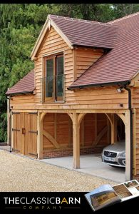Garage with Room Above Outbuilding