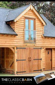 Oak Framed Outbuilding with Room Above